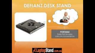 Height And Angle Adjustable Laptop Stand - Defianz Desk Stand