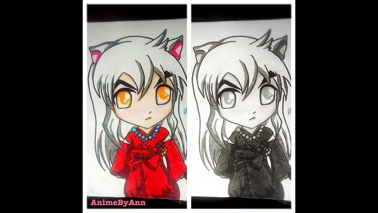 Easy Inuyasha Chibi Drawing