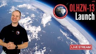 OLHZN-13 Live 🔴 Launch Operations | High Altitude Weather Balloon | Part 1 of 2