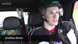 MacKinnon drives Drouin to practice #1 - April 14 2013