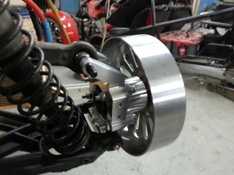 Hpi Baja Twin Motors Wheel Prototype 9 Cells