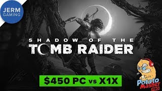 Xbox One X vs budget PC - Shadow of the Tomb Raider Resolution and Framerate modes compared
