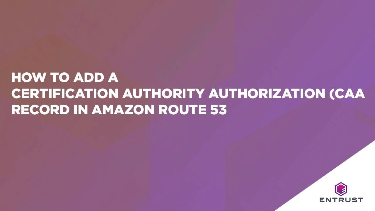 How to add a certification authority authorization caa record in how to add a certification authority authorization caa record in amazon route 53 xflitez Images