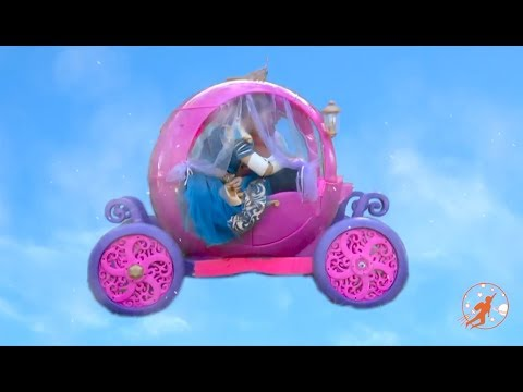 Little Princesses 20 - The Flying Pink Disney Princess Carriage and The Pushy Friend