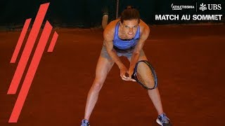 Lea Sprunger vs Timea Bacsinszky | Match au sommet