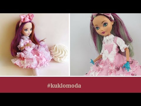 How to sew dress style sweet lolita for doll