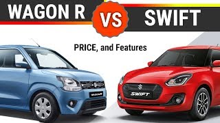 Maruti Wagon R vs Swift  in Hindi    New Maruti Suzuki WagonR 2019   Car tech