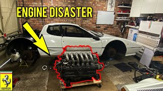 Ferrari 512 BBi Boxer Project Hits a Major Disaster - How Bad is it ?