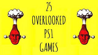 25 Overlooked & Underrated PlayStation Games / Happy 25th Birthday PlayStation!
