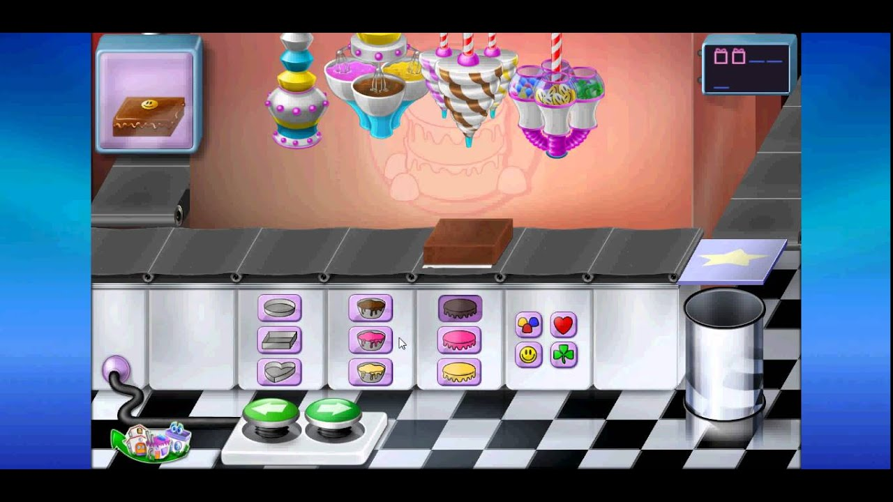 Purble Place Cake Factory Game