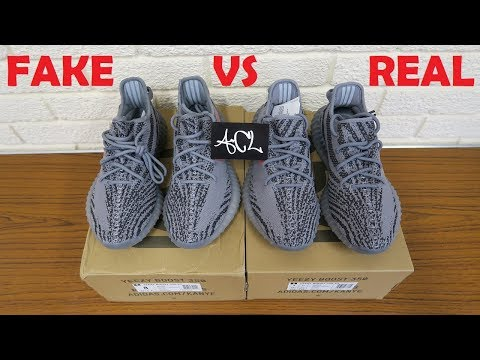 HOW TO SPOT FAKE YEEZY BELUGA 2.0 Real vs Replica Yeezy boost 350 v2