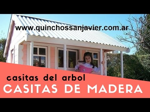CASAS DE MADERA INFANTIL PARA NIÑOS.