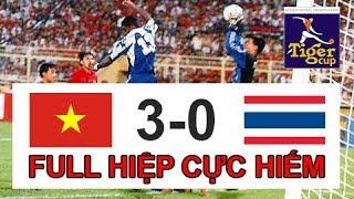 Video cực hiếm về trận thắng lịch sử Tiger Cup 98 | Việt Nam 3-0 Thái Lan thế hệ vàng của Việt Nam