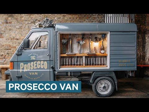 This Van Tours The UK Selling Prosecco On Tap