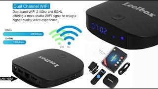 Great box apps works well!! Leelbox Q2 Pro Android TV Box 2GB/16GB. No buffering!!