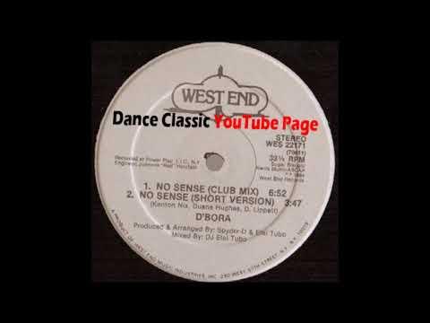 D'Bora - No Sense (A DJ Elal Tubo Club Mix)