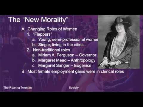 The Roaring Twenties - Society