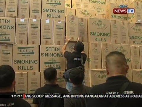 SONA: BOC, nag-inspeksyon sa isang warehouse ng Mighty Corp. sa San Ildefonso, Bulacan