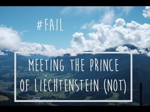 MEETING THE PRINCE OF LIECHTENSTEIN (not)