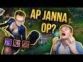 AP Janna OP? - Xayoo /Jankos / ArQuel - Golemiada