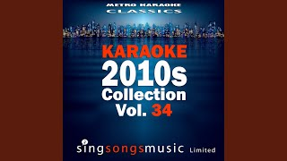 I Wanna Be Loved (In the Style of Eric Benet) (Karaoke Version)