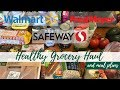 Fred Meyer, Walmart, Safeway | Healthy Grocery Haul & Meal Plans | WW Freestyle