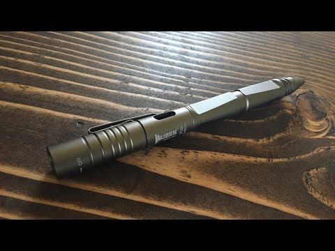 WUBEN Tactical Pen/LED Light/Window Breaker