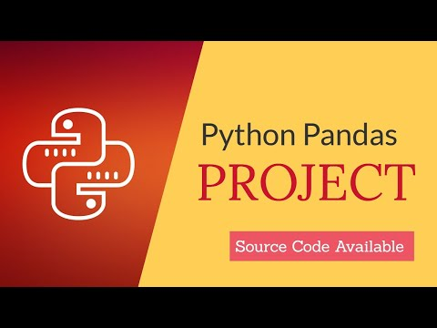 Python Pandas Project for class 12 CBSE Student