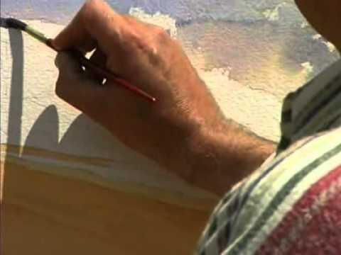 Dermot Cavanagh teaches how to Paint watercolours.