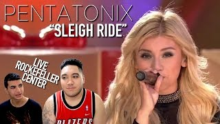 Pentatonix Sleigh Ride Live at Christmas in Rockefeller Center