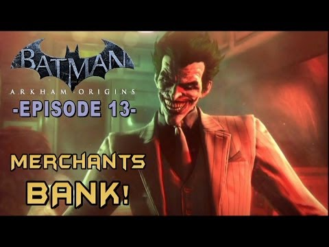 Batman: Arkham Origins - Walkthrough Part 13 Black Mask's Merchant Bank!