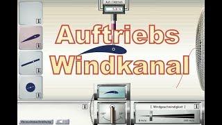 Auftrieb Simulator im Virtuellen Windkanal