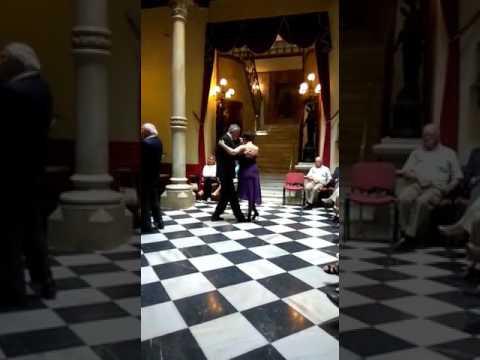 """Tango """"SUR"""" Canta Coro Magíster. Casino de Cartagena"""