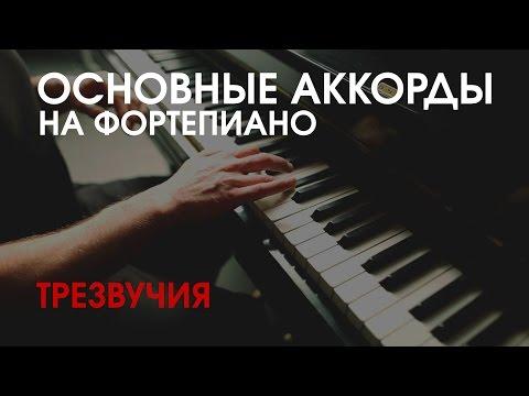 Вопрос: Как играть мажорные аккорды на клавишных инструментах?