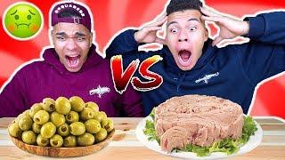 ESSEN DAS MARVIN HASST VS ESSEN DAS KELVIN HASST CHALLENGE !!!   Kelvin und Marvin