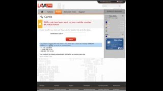 how to link your bank card to LavaPay com eWallet