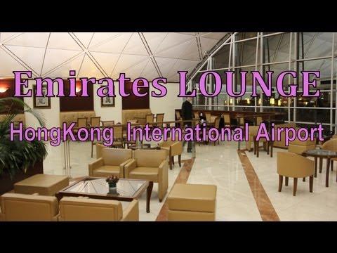 Emirates Lounge  ~HongKong international Airport~