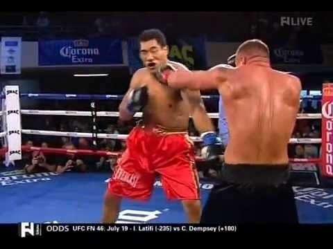 Taishan Dong vs Alex Rozman - pro debut fight of Taishan 18.07.2014 James ExPatel