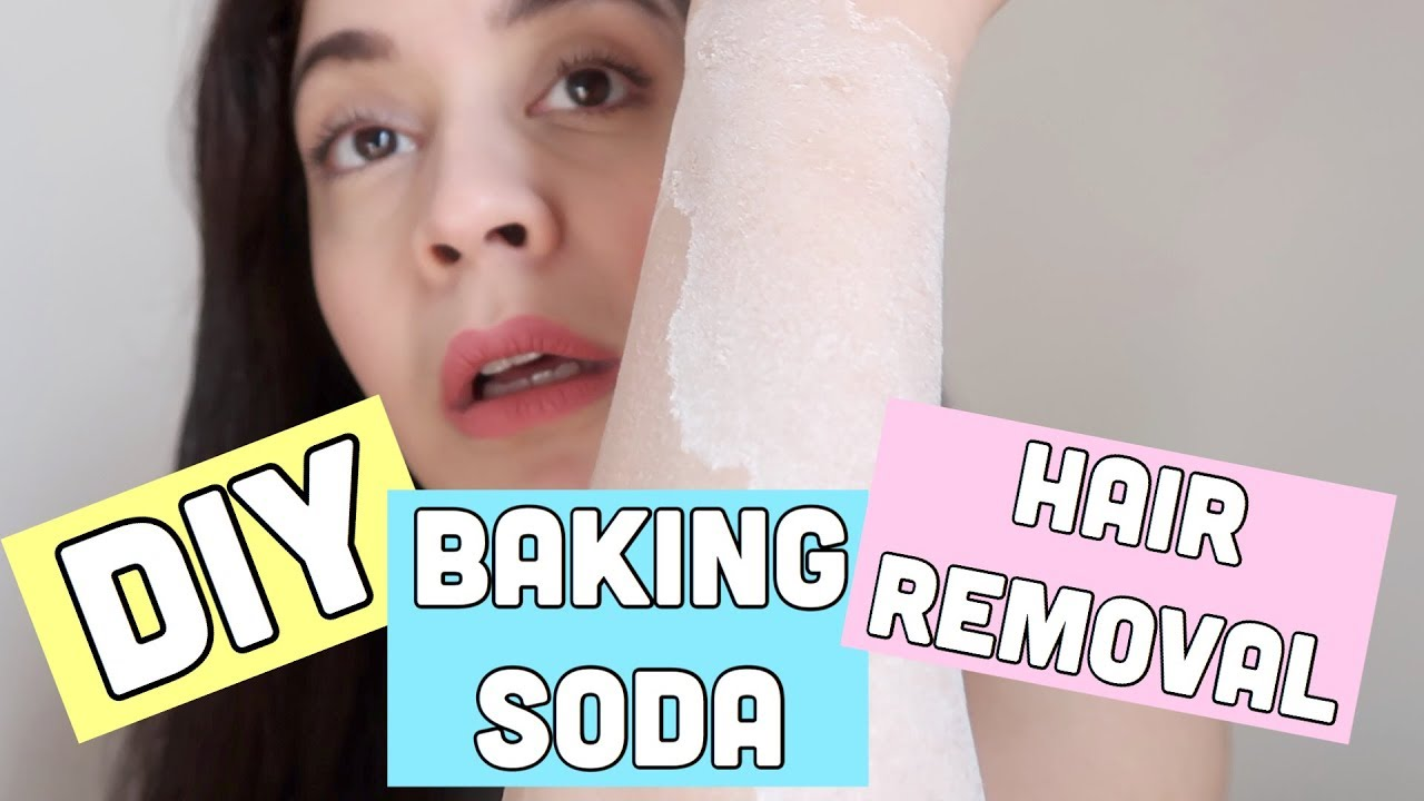 I USE BAKING SODA FOR HAIR REMOVAL DOES IT WORK | ItsAllAboutSaw