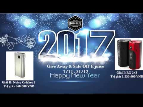 Give Away - Merry Christmas & Happy New Year 2017