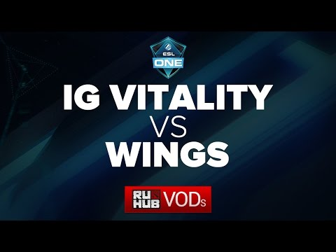 IG Vitality vs. Wings Gaming, ESL One Manila Quals, Game 1
