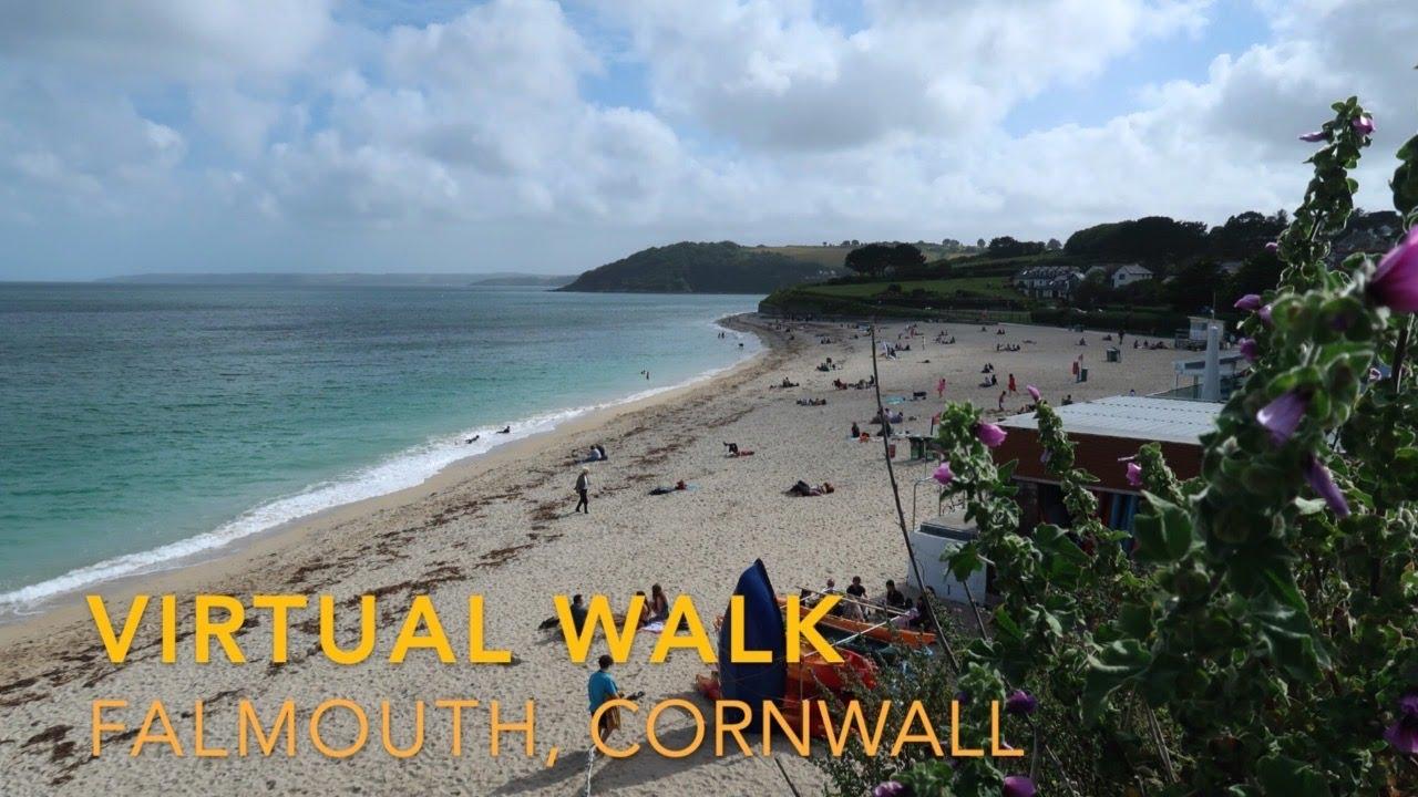 Virtual Walk Falmouth, Cornwall