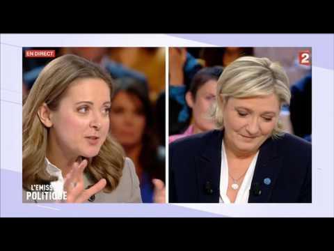 la chronique de Charline Vanhoenacker France 2 l'emission politique.