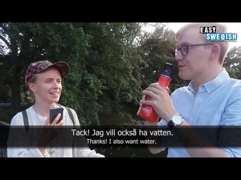 Tiếng Thụy Điển giao tiếp- Bài 1: Tôi tên Lotta