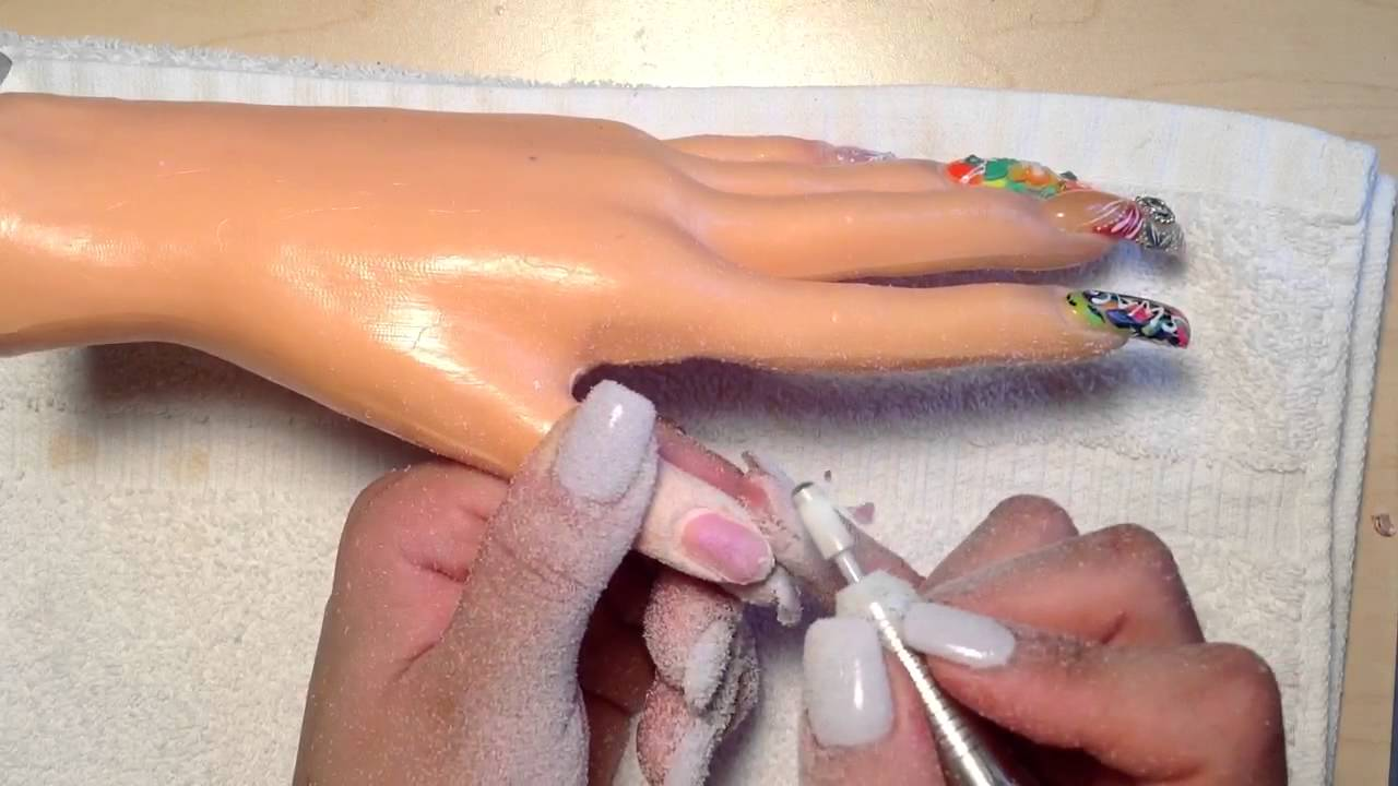 How I Remove a Nail off a Fake Hand - YouTube