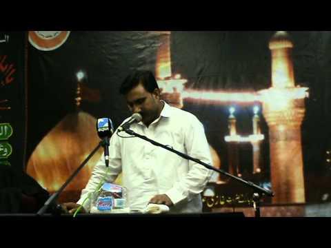 akhtar khokhar bcn 21 08 2011 shahadat mola ali a s  20 ramazan in spain barcelona  day 1  2