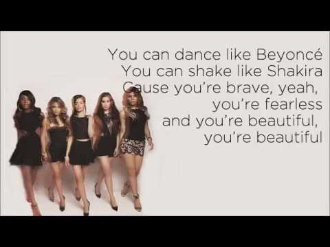 Fifth Harmony - Brave Honest Beautiful (feat.  Meghan Trainor) (Lyrics)