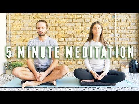 5 Minute Beginners Guided Meditation | The Body Coach