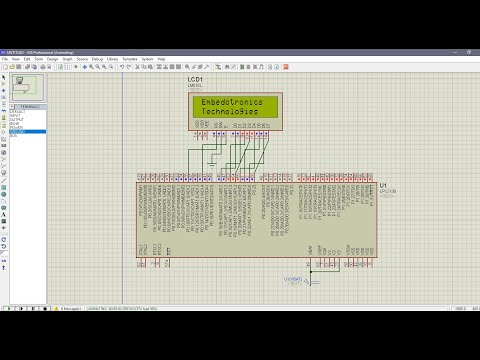 LPC2148 Interfacing With 16*2 LCD: 5 Steps