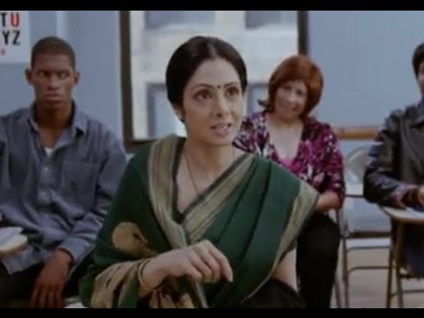 Shashi's First Day At English Classes - English Vinglish (Tamil)